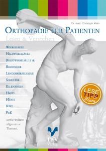 Buchcover Orthopädie für Patienten